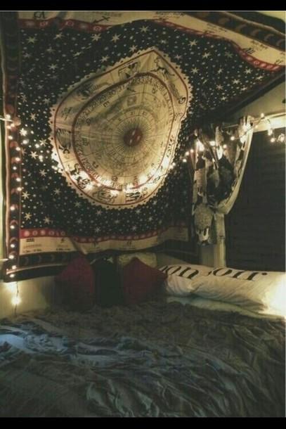 scarf bedding boho hippie home decor home accessory