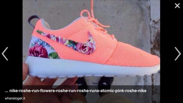 Nike Coral Floral Free Runs | Indian Television Dot Com