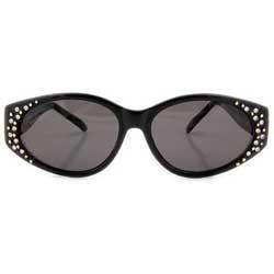 GRAMMY Black Cat-Eye Sunglasses