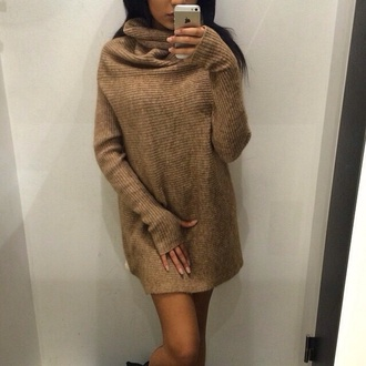 knit long shirt trendy winter sweater sweater dress knitted dress