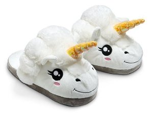 Amazon.com: Plush Unicorn Slippers for Grown Ups: Toys & Games