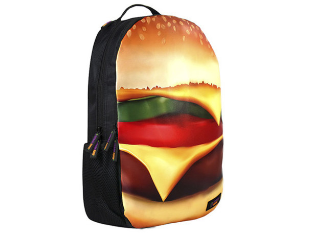 bag hamburger funky backpacks cool backpacks urban junk uk backpacks school  bag 046c9ebbbf1b8