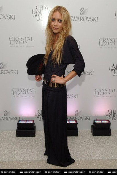 mary kate olsen olsen black dress dress boho gypsy