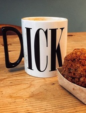 home accessory,mug,coffee,tea mug,dick mug