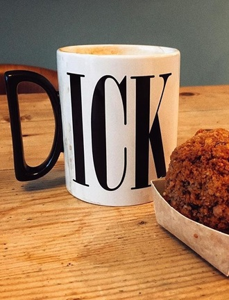 home accessory mug coffee tea mug dick mug