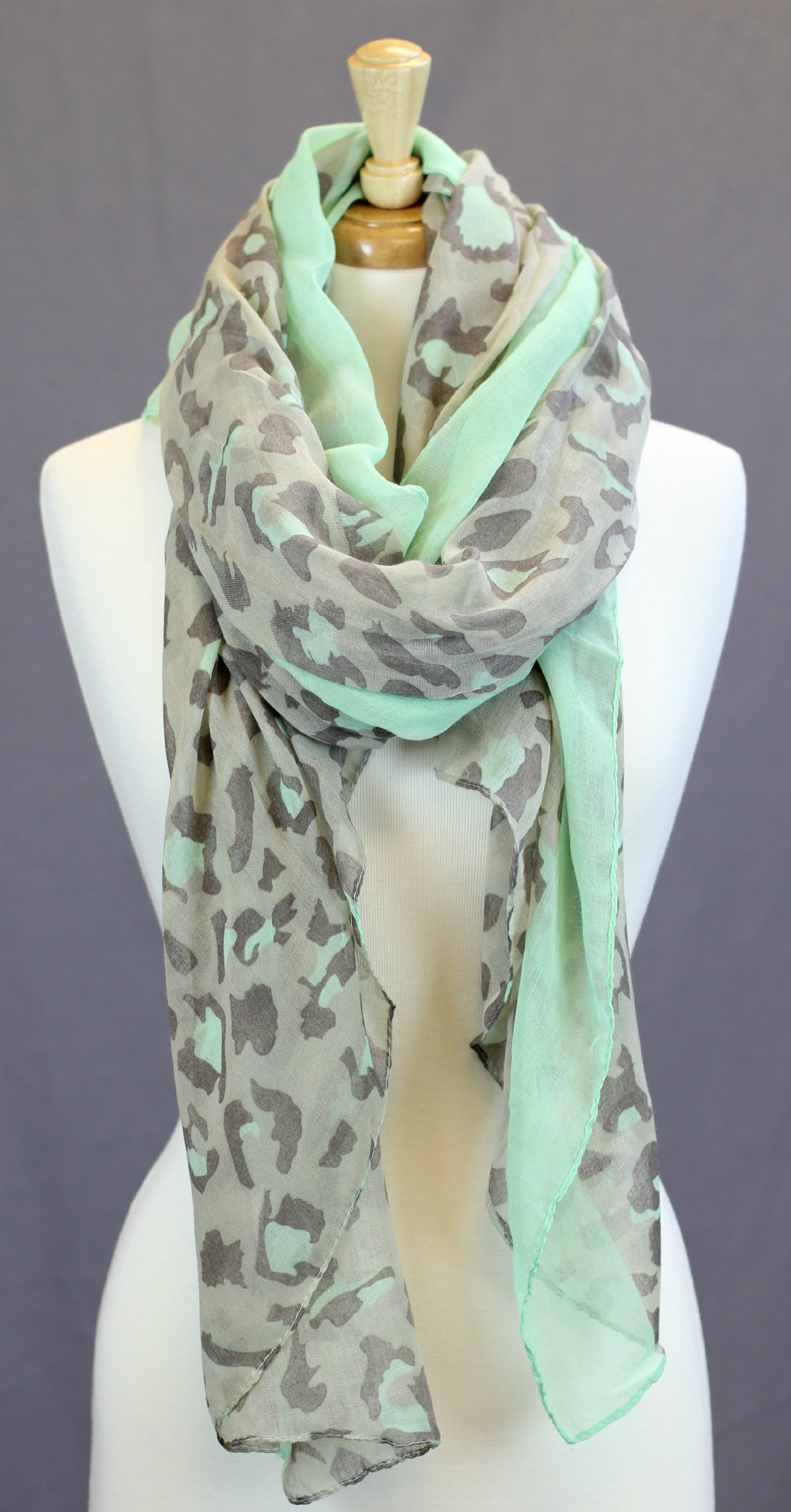 Mint Me Scarf on Wanelo