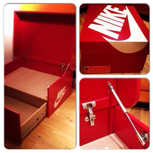 Build Giant Nike Shoe Box