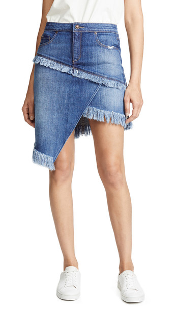 skirt asymmetrical skirt asymmetrical blue