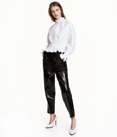 H&M Patent Pants $59.99