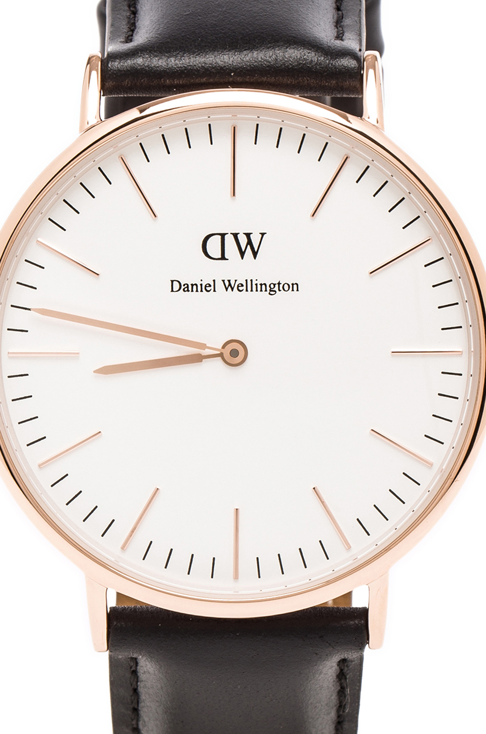 Daniel Wellington Sheffield 40mm in Rosegold from REVOLVEclothing.com