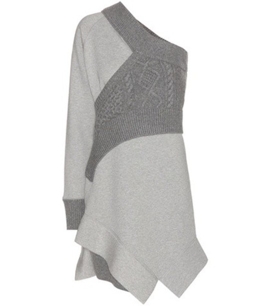 Burberry dress sweatshirt dress grey