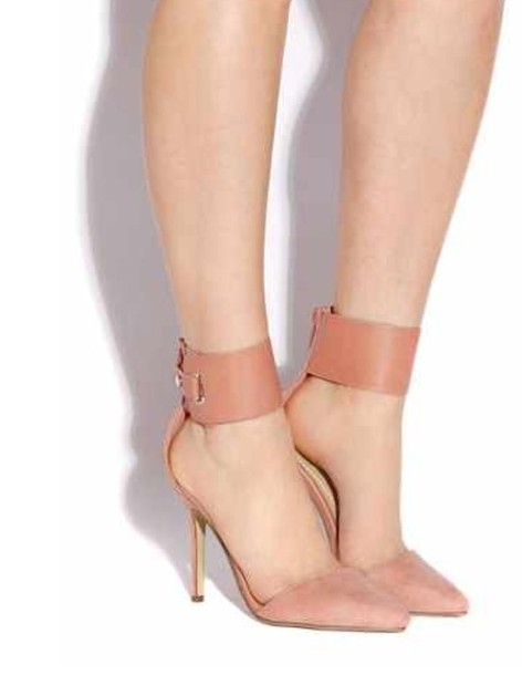 shoes ankle strap heels ankle strap high heels peach heels