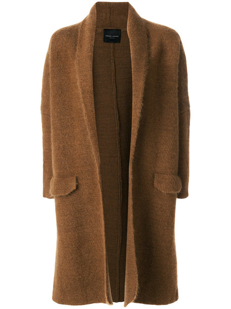 cardigan oversized cardigan cardigan oversized women mohair brown sweater