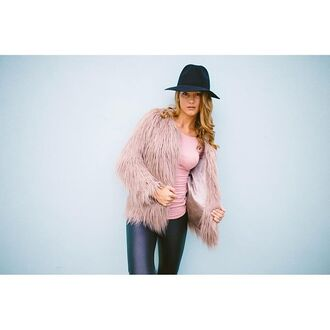 coat fur coat mauve mauve coat mauve fur coat leather leggings leggings black leggings black leather leggings faux fur mauve faux fur faux fur coat faux fur jacket jacket winter coat winter jacket winter outfits