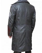 coat,greyleathercoat,longcoat,jaicourtney