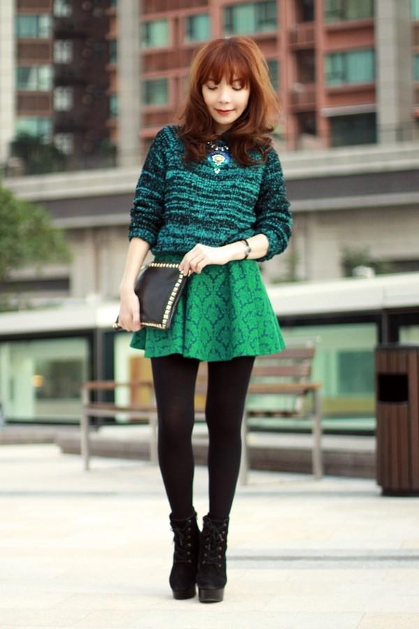mochaccinoland jewels skirt shirt sweater bag