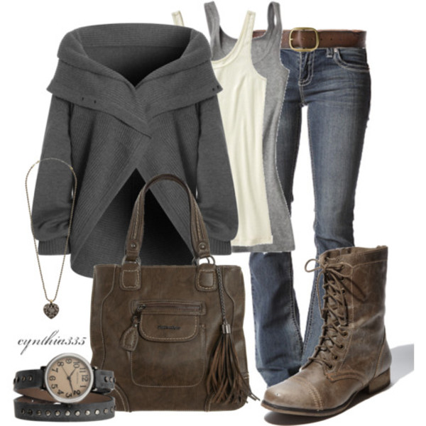 jacket coat cardigan sweater back to school combat boots blouse belt jeans shoes