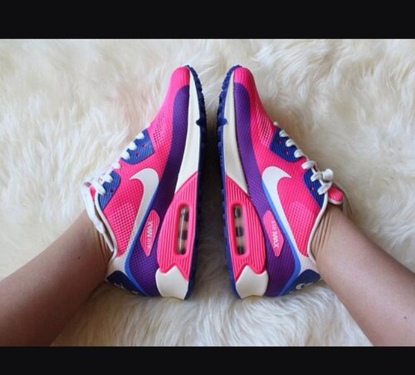 shoes sneakers air max pink nike