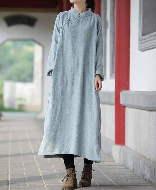 dress loose gown maxi dress