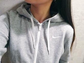 nike grey sweater jacket grey sweater hoodie grey nike sweater nike grey hoodie