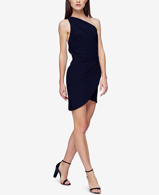 Fame and Partners One-Shoulder Satin Dress - Fame and Partners - Women - Macy's