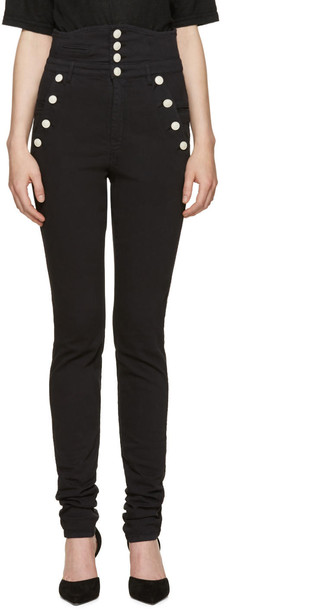 Isabel Marant jeans high black