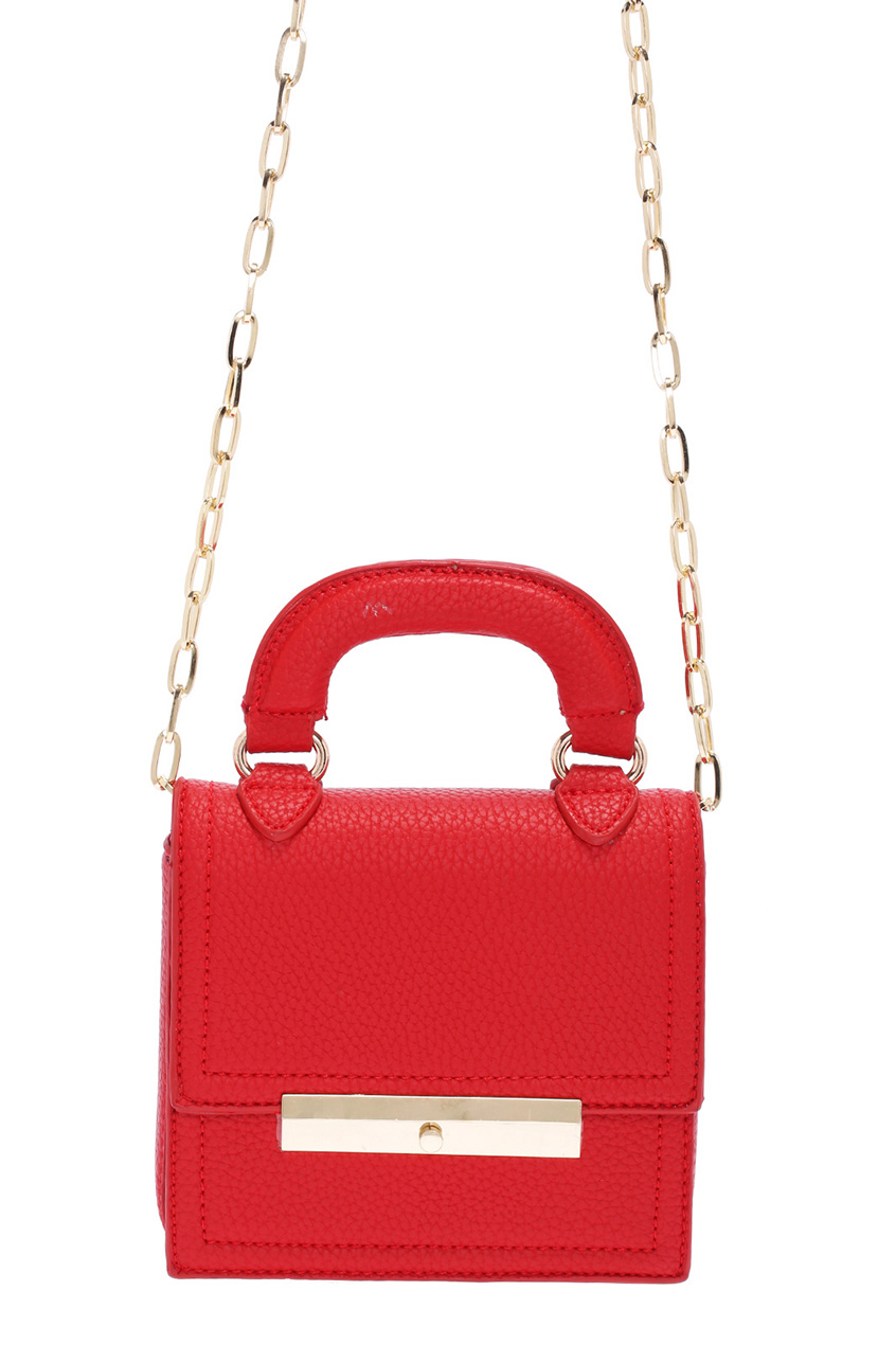 ROMWE | ROMWE Elegant Red Mini Bag, The Latest Street Fashion