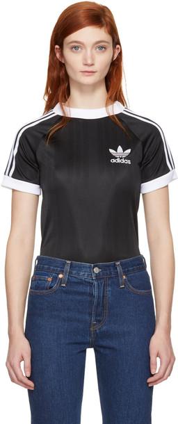Adidas Originals t-shirt shirt t-shirt football black top