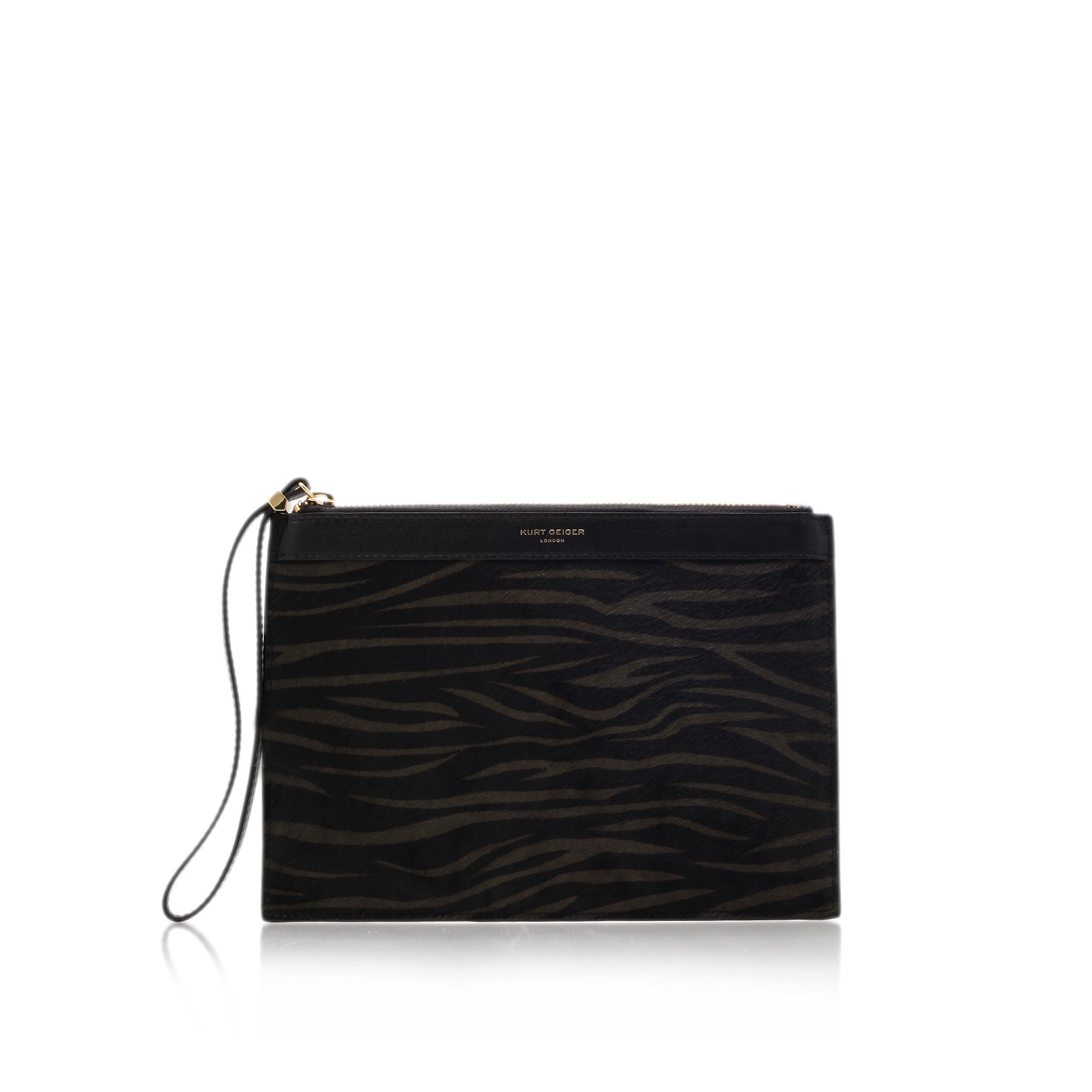 Kurt Geiger |  LEATHER POUCH - Clutch Bags - Bags