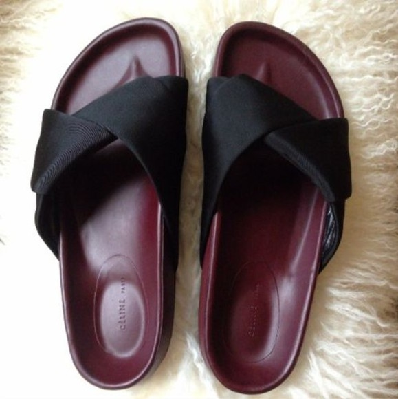 celine shoes slippers