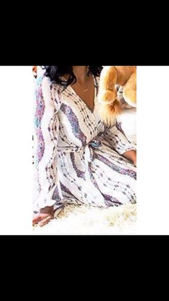 dress floral dress white dress