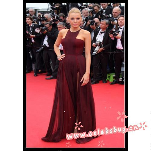 Blake lively prom dress– 'grace of monaco' cannes film festival premiere & opening ceremony_new arrivals(446)_celebrity dress online shopping prom dress
