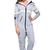 Marius Onesie Grey/White/Navy - Womens