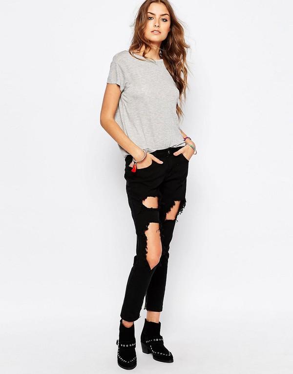 jeans denim clothes ripped jeans distressed denim black jeans