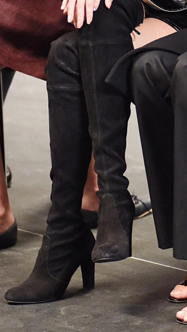 2ccc47f5118 shoes black suede boots black boots thigh high boots thigh highs over the knee  boots.