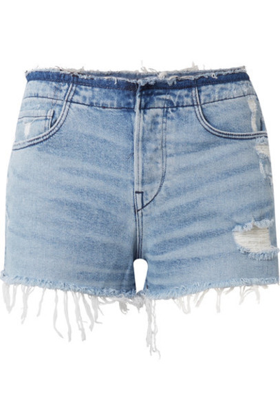 3x1 shorts denim shorts distressed denim shorts denim light