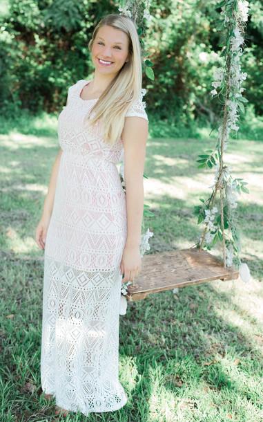 f92354b07a87 dress boutique estella lace maxi lace overlay lace lace dress beach wedding maxi  dress white lace