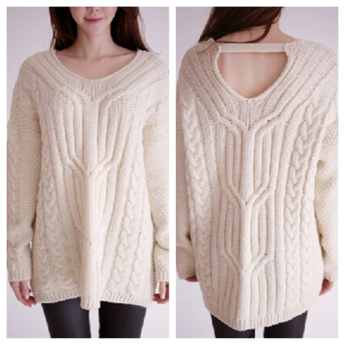 Neck sweater from doublelw on storenvy