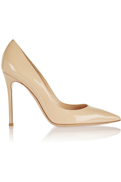 Gianvito Rossi pumps leather neutral shoes