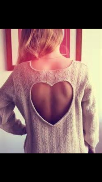 sweater heart sweater heart beautiful knitted sweater knitted tops