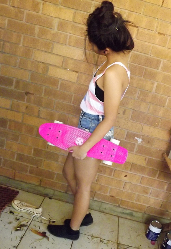 Your idea cute girl on skateboard mine very