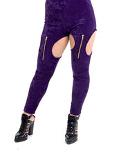 leggings,zip,zipper leggings,velvet,velvet leggings,white,cut-out,leggings bangerztour bangerz miley cyrus merchandise,open legging,garter leggings,garter,gold zippers,highwaisted leggings,high waisted,kim kardashian,bottoms,tights,jeans,oval,side,detail