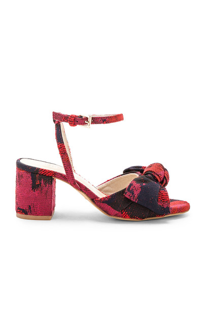 RAYE red shoes