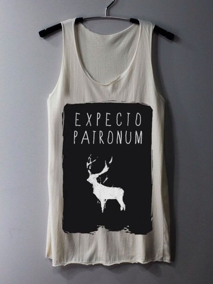 shirt deer harry potter harry potter harry potter tank top expecto patronum father hogwards hermione dombeldore sneep voldermort