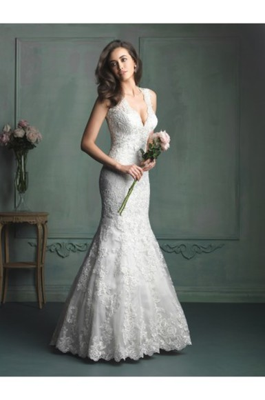 backless dress wedding dress bridal gowns deep v neck dress