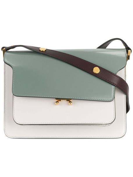 MARNI women bag shoulder bag leather white