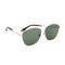 Givenchy square aviator sunglasses - palladium/green