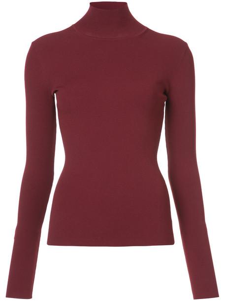 Dvf Diane Von Furstenberg jumper turtleneck women fit red sweater