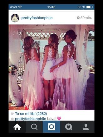 dress wedding dress pink dress