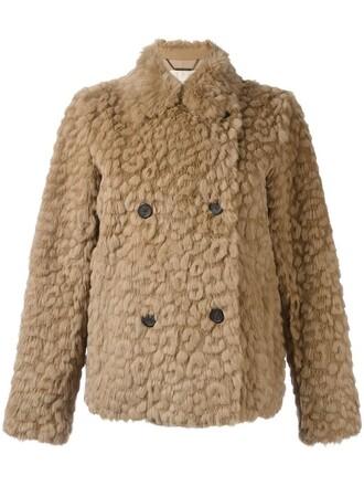 jacket short fur women spandex nude